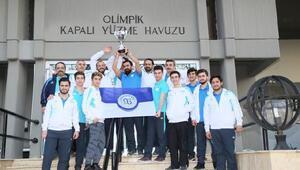 Arnavutköy Sualtı Hokey Takımı namağlup şampiyon oldu