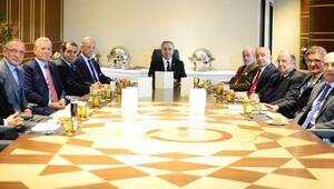 Galatasarayda başkanlar zirvesi sona erdi
