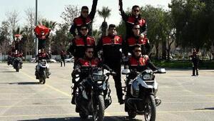 Motosikletli timlere 87 yeni polis