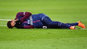 PSGde Neymar şoku 10 hafta yok...