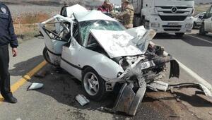 Şanlıurfada zincirleme kaza: 2 ölü, 3 yaralı