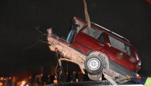 Yazıhanda trafik kazası: 2 ölü, 4 yaralı