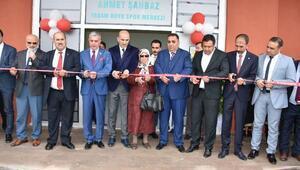 Tarsusta Ahmet Şahbaz Yaşam Boyu Spor Merkezi açıldı