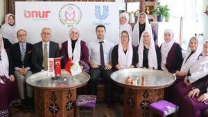 Üreten kadınlara Onur'lu destek