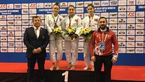 Judo Milli Takımı 1 gümüş ve 2 bronz madalya kazandı haberinin (FOTOĞRAF)