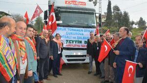 Salbaştan Zeytin Dalı Harekatına destek kampanyası