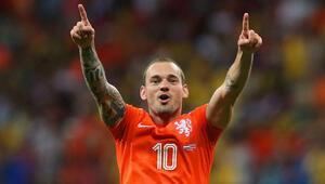Sneijder bombası... Resmen bitti
