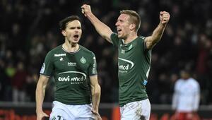 Saint-Etienne beraberliği Beric ile kurtardı (ÖZET)