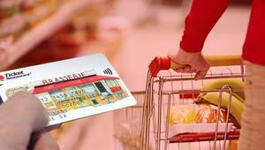 Yemek kartlarıyla market alışverişine son