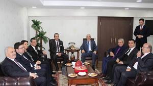 CHP heyetinden BBP ve DSPye ziyaret (fotoğraflar)