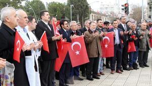 Manavlar Afrin için yürüdü