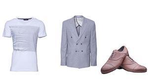 İlkbahar-Yaz Erkek Modasında milenyum mavisi ve tropikal desenler moda