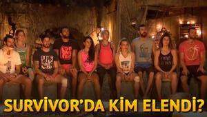 Survivor 2018e bir yarışmacı daha veda etti.. Peki Survivorda dün akşam kim elendi