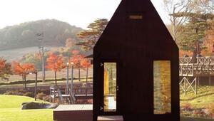 Güney Kore'de 64 metrekarelik muhteşem ev