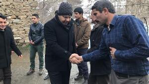 Kaymakam Özcan,mahalle ziyaretleriyle vatandaşların sorunlarını dinliyor