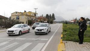 Antalya yollarında sivil seçici göz uygulaması