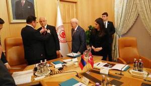 Milletvekili Erdoğana, Moğolistanın en büyük devlet nişanı