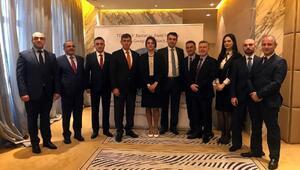 TÜRK-AV Yönetim Kurulu, Feyzioğlu'nun başkanlığında Tiflis'te toplandı