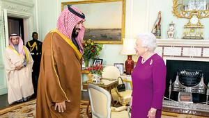 Kraliçe'ye konuk