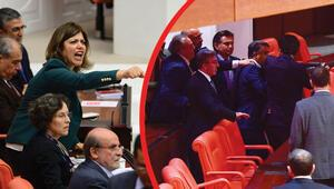 Mecliste yumruklu Afrin kavgası Birbirlerine girdiler, yaralı vekiller var