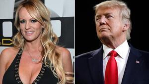 Trumpa dava açtı ABD porno yıldızının ifadesine kilitlendi