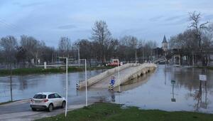 Tunca Nehrindeki taşkın, kırmızı alarm seviyesine yükseldi