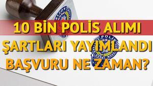 POMEM başvuru şartları neler 10 bin polis alımı ilanı verildi