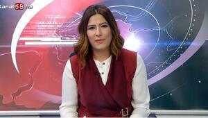 Merhum gazeteci İsmail Güneşin eşi haber bülteni sundu