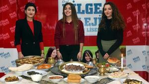Erzurumun meşhur yemekleri ile TÜBİTAKta yarışacak