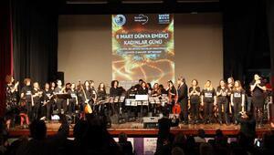 Kartal Belediyesi Kadınlar Günü'ne özel konser düzenledi