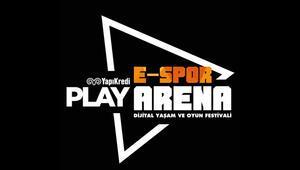 Yapı Kredi Play E-Spor Arena Dijital Yaşam ve Oyun Festivali Squad Pubg Turnuvası