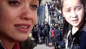 Yürüyen merdiven paniği: Öğrenciler yaralandı