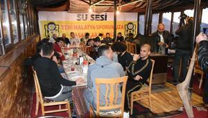 Evkur Yeni Malatyasporda Fenerbahçe maçı öncesi moral yemeği