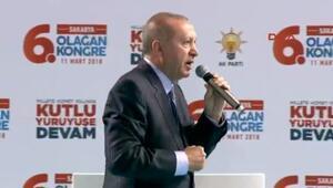 Erdoğandan o sözlere sert cevap: Salamura olmaktan nasıl kurtulduklarını iyi öğrensinler