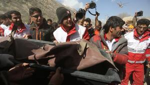 Türk jetini arama kurtarma çalışmalarından ilk görüntüler