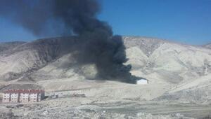 Beypazarıda tüp depolarında patlama (1)