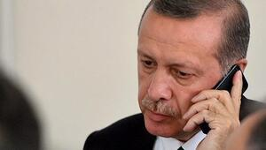 Erdoğan, düşen jette hayatını kaybedenlerin aileleri için taziyede bulundu