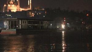 Yeni Karaköy Yolcu Salonu, Haliç Tersanesine ulaştı