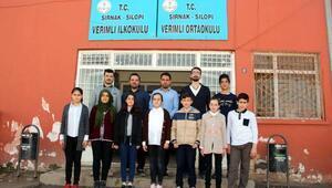 Silopili öğrencilerden Afrindeki Mehmetçiğe moral klibi