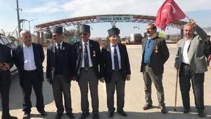 Ağrılı gaziler, Zeytin Dalı Harekatına destek için Kiliste