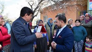 Başkan Uludağ'a teşekkür plaketi