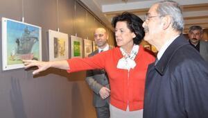 34üncü Aydın Doğan Uluslararası Karikatür Yarışması Sergisi Eskişehirde açıldı