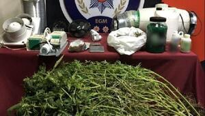 İzmir polisinden bir haftada 68 uyuşturucu operasyonu