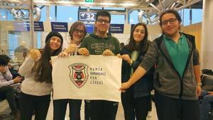 Öğrenciler mültecilere yönelik çalışmaları anlattı