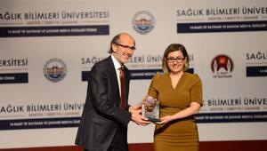 Sağlık Bilimleri Üniversitesinden DHA muhabirine en iyi haber ödülü