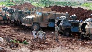 Birlikler, Afrin tepelerine konuşlandı