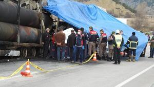 Çorumda otobüs kazasında ölen 7 kişinin cenazeleri ailelerine teslim edildi