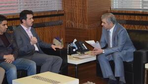 AGDde başkanı Kipten Büyükşehire ziyaret