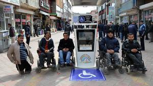 Engelliler artık yolda kalmayacak