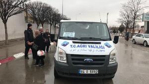 Ağrı-İran sınır kapıları arasında ücretsiz servis